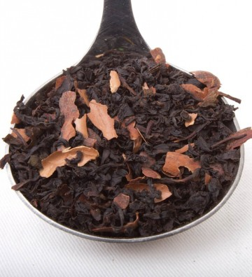 Té negro con chocolate