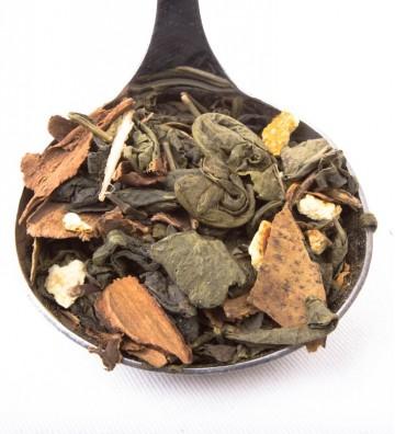 Té verde con Canela y Naranja