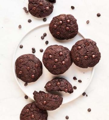 Galletas de chocolate bombón