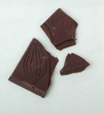 Tableta Choco Negro 72% con...